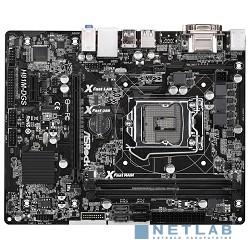 ASRock H81M-DGS  R2.0 RTL {S1150, H81, DDR3, 5.1ch-Audio, PCI-E, GBL, SATAII, DVI, D-Sub, mATX (uATX)}