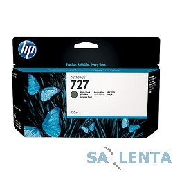 HP B3P22A Картридж №727, Matte Black {Designjet T920/T1500, Matte black (130ml)}