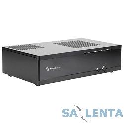 Slim HTPC Silverstone Milo ML05B <Black, mITX, USB3.0, Audio, без БП SFX>