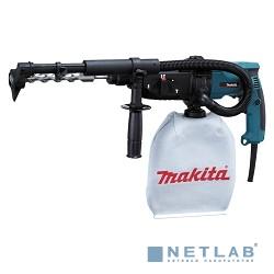 Makita HR2432 Перфоратор SDS+ [HR2432] {780Вт,3реж,2.2Дж,0-4500у\м,3кг,чем,пылеотсос}