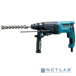 Makita HR2600 Перфоратор крепление SDS-Plus [HR2600] {макс. энергия удара 2.4 Дж, мощность 800 Вт, вес 2.8 кг, кейс}