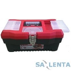 Ящик ЗУБР «МАСТЕР» пластмассовый для инструмента, 40,6×22,5×20,2см, 16″ [38322_z01]