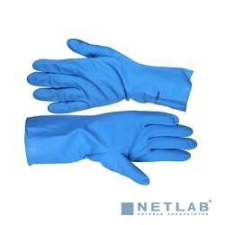 Перчатки ЗУБР ''ЭКСПЕРТ'' нитриловые, повышенной прочности, с х/б напылением, размер L [11255-L]