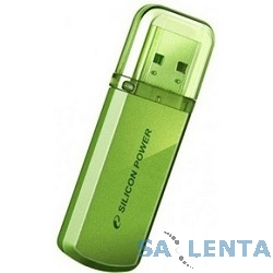 Silicon Power USB Drive 32Gb Helios 101 SP032GBUF2101V1N {USB2.0, Green}