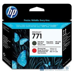 HP CE017A Печатающая головка  771 Matte Black/Chromatic Red Designjet,