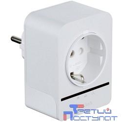D-Link DHP-P308AV/B1A/C1A/C1B PowerLine-адаптер с поддержкой HomePlug AV и встроенной электрической розеткой