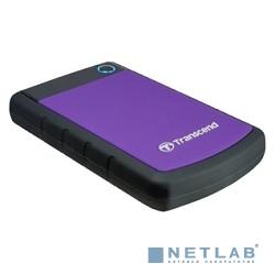 Transcend Portable HDD 2Tb StoreJet TS2TSJ25H3P {USB 3.0, 2.5'', violet}