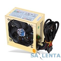 CROWN Блок питания  CM-PS450W   (20+4in, 120mm FAN, SATA*2, PATA(big Molex)*4, FDD*1, 4+4pin, Lines 2x12V RTL)
