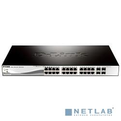 D-Link DGS-1210-28/ME/A2A Управляемый коммутатор 2 уровня с 24 портами 10/100/1000Base-T и 4 портами 1000Base-X SFP