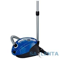 Пылесос BOSCH BSGL32383, синий, с мешком