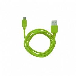 Кабель MicroUSB to USB Human Friends Super Link Rainbow M Green, 1 м. [CB 270 Green]