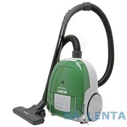 Пылесосы SUPRA VCS-1475 green, 1400 Вт, матерчатый пылесборник