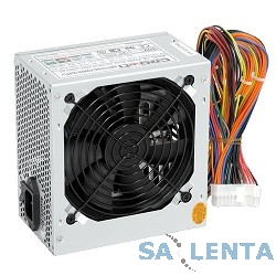 CROWN Блок питания  CM-PS400W (20+4in, 80mm FAN, SATA*2, PATA(big Molex)*4, FDD*1, 4+4pin, Lines 1x12V OEM)