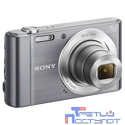 Sony CYBER-SHOT DSC-W810 [DSCW810S.RU3] Silver {16.1Mpix,8x opt zoom,2.7