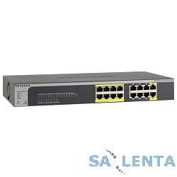 NETGEAR GS516TP-100EUS 16-портов Gigabit PoE+ (including 8GE PoE ports + 2GE PoE+PD ports), PoE budget up to 70W, QoS, static routing