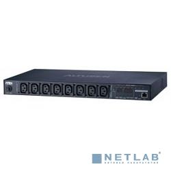 ATEN PE6108G-AX-G  NRGence eco PDU Switched 1U 10A, Output: 8 IEC C13, Input: IEC C14
