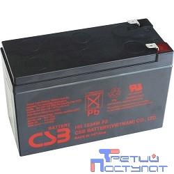 CSB Батарея HR1234W (12V, 9Ah, 34W) клеммы F2