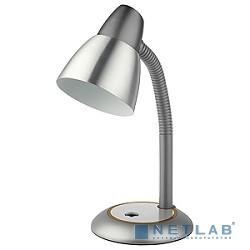 ЭРА C0044885 Настольный светильник N-115-E27-40W-GY серый {Светильник настольный, цоколь E-27, 40 Вт}