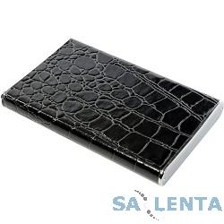 ORIENT 2509U2 Внешний контейнер , External Case 2.5″ SATA HDD, USB 2.0, алюминиевый корпус, кожаная отделка «крокодил» черного цвета