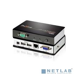 ATEN CE700A-D(AT-G) Удлинитель, SVGA+KBD+MOUSE USB ATEN, 150 метр., HD-DB15+USB A-тип, Female, c KVM-шнуром USB 1.8м, Б.П. 220> 5.3V