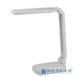ЭРА Б0006625 Настольный светодиодный светильник NLED-421-3W-W белый {Светильник настольный складной, аккумулятор, два режима яркости, цвет. температура 3000К}