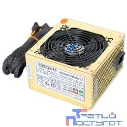 CROWN Блок питания  CM-PS450W smart   (20+4in, 120mm FAN, SATA*2, PATA(big Molex)*4, FDD*1, 4+4pin, Lines 1x12V OEM)