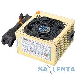 CROWN Блок питания  CM-PS450W smart   (20+4in, 120mm FAN, SATA*2, PATA(big Molex)*4, FDD*1, 4+4pin, Lines 1x12V OEM