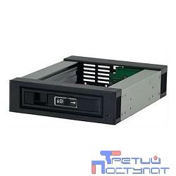 Procase L3-101-SATA3-BK  {Hot-swap корзина 1 SATA3/SAS 6Gb, черный, с замком, hotswap aluminium mobie rack module (1x5,25) 1xFAN 40x15mm}