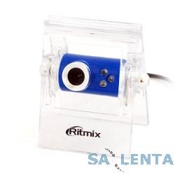 Вебкамера RITMIX RVC-005M {USB, 0.3 Мп, микрофон}