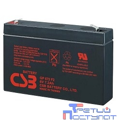 CSB Батарея GP672 (6V/7,2(7)Ah)