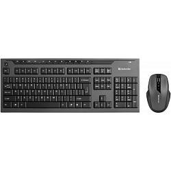 Keyboard DEFENDER Oxford C-975 Nano B Черный [45975] Кл:104+12 М:6кн, 1000-2000dpi