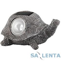 ЭРА SA3 «Черепаха» Серый {Садовый светильник на солнечной батарее, «Керамический» светильник из серии «фигур» — Черепаха.}