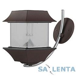 ЭРА SL-AL22-LTN Комбинированная расцветка {Садовый светильник на солнечной батарее, модель представляет собой настенный уличный фонарь с привлекательным дизайном}