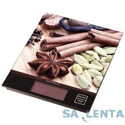 Весы кухонные электронные SUPRA BSS-4097 brown