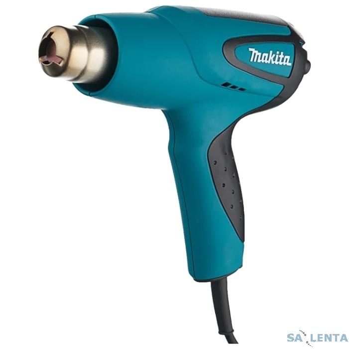 Makita HG5012K Пистолет горячего воздуха [HG5012K] {1600Вт,350500лм,350-500грС,0.58кг,чем,3 насадки}