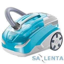 Пылесос Thomas Mistral XS 1700Вт серебристый/синий