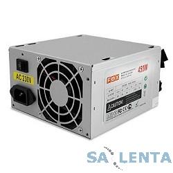 Блок питания ATX 450W OEM FOX (80мм вентилятор/1*PCI-E/24pin/2*SATA, мощность 450W)