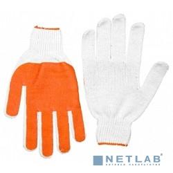 Перчатки STAYER ''МАСТЕР'' трикотажные, 7 класс, х/б, обливная ладонь из ПВХ, L-XL [11405-XL]