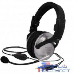KOSS SB-49 {Гарнитуры, закрытого типа с электретным микрофоном и VC,част. 18-20000 Гц,чувствительность 103 дБ,импеданс 100 Ом. шнур 2,4м, регулятор громкости}