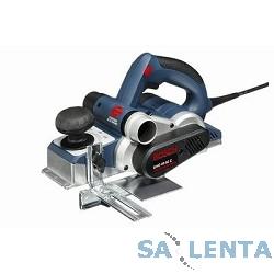 Bosch GHO 40-82(С) Рубанок электрический [060159A760] { 850 Вт, 82мм, 4.0мм, 14000об/мин, 3,2кг, чемодан }