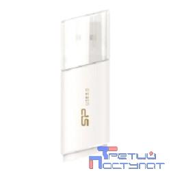 Silicon Power USB Drive 8Gb Blaze B06 SP008GBUF3B06V1W {USB3.0, White}