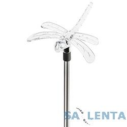 ЭРА SD2 Серебристый {Садовый светильник на солнечной батарее «Бабочка+Стрекоза», Акку NiMH AA}