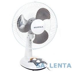 Вентилятор напольный SUPRA VS-1211 white/grey