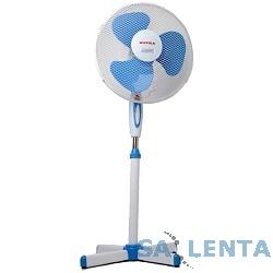 Вентилятор напольный SUPRA VS-1602 white/blue