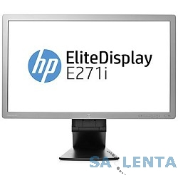 HP 27″ EliteDisplay E271i Dark-Grey {IPS LED 7ms 16:9 DVI HDMI HAS Pivot 5M:1 250cd} [D7Z72AA]