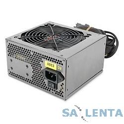 Блок питания ATX 600W FOX  RTL( переключатель I/O, 4* SATA, 2*(PCI DX2 6PIN+2PIN ) , CE,FCC  ,датчик температурного контроля (T/C) ,120мм вентилятор ,упакован в коробку)