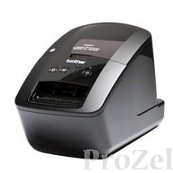 Brother QL-720NW  Стильное профессиональное устройство для печати наклеек со встроенной проводной сетевой картой и Wi-Fi QL720NW(R1)