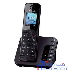 Panasonic KX-TGH220RUB  (черный) {АОН, Caller ID,