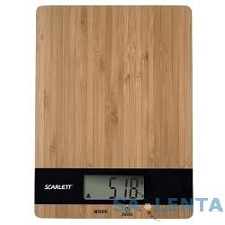 Весы кухонные электронные Scarlett SC-KS57P01,  черный