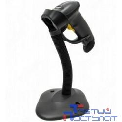 Zebra LS2208 [LS2208-SR20007R-UR]  черный {ручной лазерный сканер штрих-кода BLACK USB KIT: Includes LS2208-SR20007R scanner, CBA-U01-S07ZAR cable, 20-61019-02R Stand}